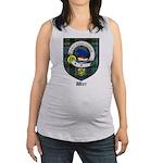 Wier Clan Crest Tartan Maternity Tank Top