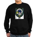 Wier Clan Crest Tartan Sweatshirt (dark)