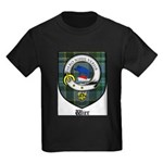 Wier Clan Crest Tartan Kids Dark T-Shirt