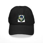 Wier Clan Crest Tartan Black Cap