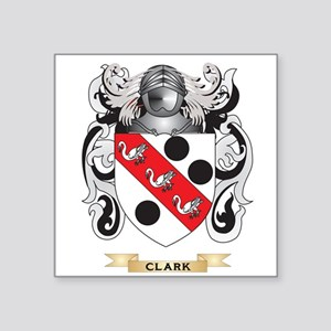 Clark Coat of Arms Sticker