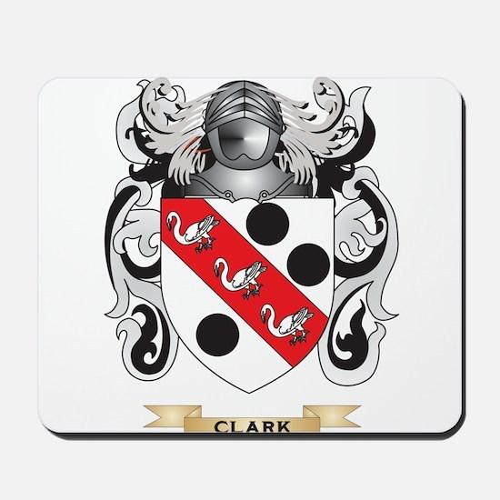 Clark Coat of Arms Mousepad