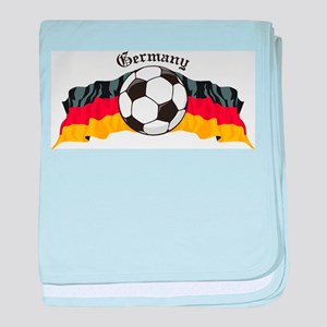 GermanySoccer baby blanket