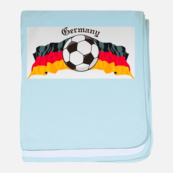 GermanySoccer.jpg baby blanket