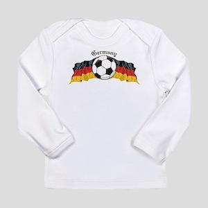GermanySoccer Long Sleeve Infant T-Shirt