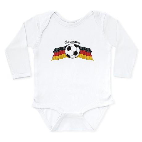 GermanySoccer.jpg Long Sleeve Infant Bodysuit