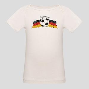GermanySoccer Organic Baby T-Shirt