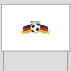 GermanySoccer Yard Sign