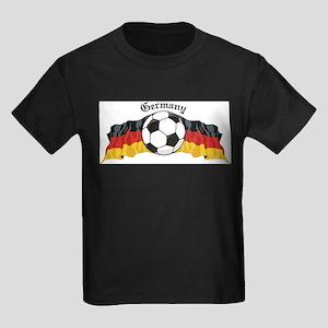 GermanySoccer Kids Dark T-Shirt