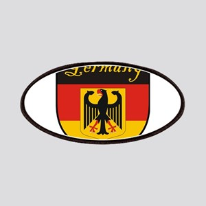 Germany Flag Crest Shield Patches