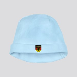 Germany Flag Crest Shield baby hat