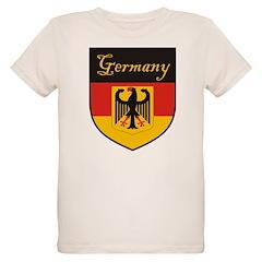 Germany Flag Crest Shield T-Shirt
