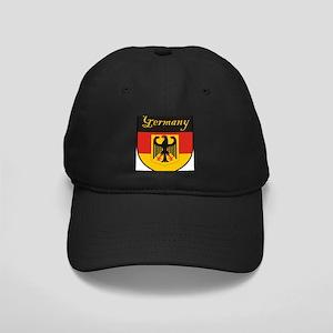 Germany Flag Crest Shield Black Cap