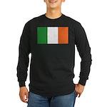 Irish Flag / Ireland Flag Long Sleeve Dark T-Shirt