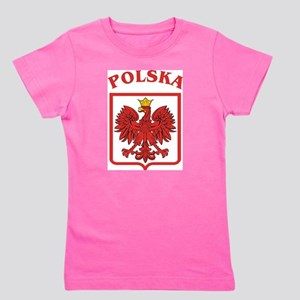 Polskaeagleshield Girl's Tee