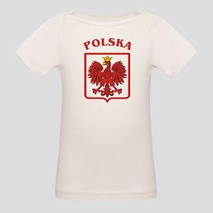 Polskaeagleshield Organic Baby T-Shirt