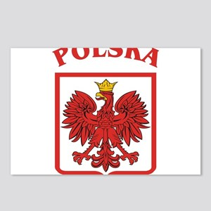 Polskaeagleshield Postcards (Package of 8)