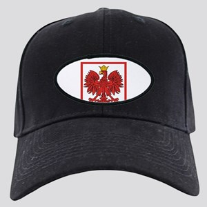 Polskaeagleshield Black Cap
