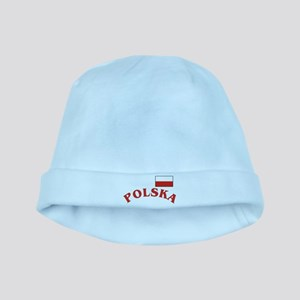 Polska-withflag baby hat
