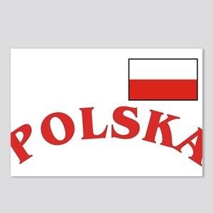 Polska-withflag Postcards (Package of 8)