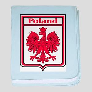 Poland Shield / Polska baby blanket