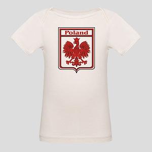 Poland Shield / Polska Organic Baby T-Shirt