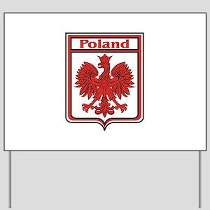 Poland Shield / Polska Yard Sign