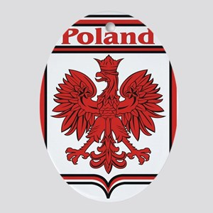 Poland Shield / Polska Ornament (Oval)