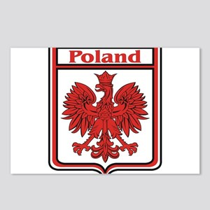 Poland Shield / Polska Postcards (Package of 8)