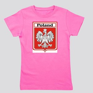 Poland-shield Girl's Tee