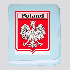 Poland-shield baby blanket
