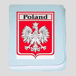 Poland-shield baby blanket