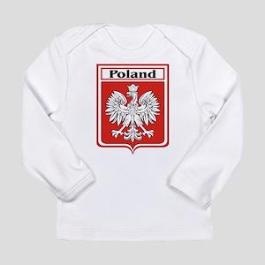 Poland-shield Long Sleeve Infant T-Shirt