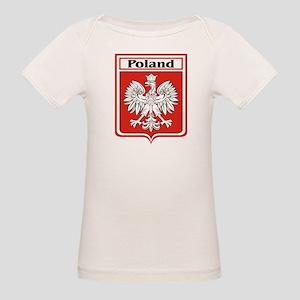 Poland-shield Organic Baby T-Shirt