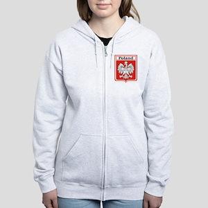 Poland-shield Women's Zip Hoodie