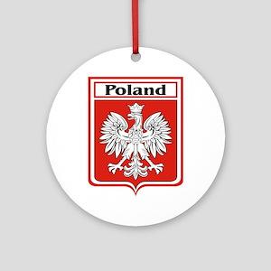 Poland-shield Ornament (Round)