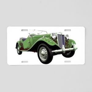 MG TD Aluminum License Plate