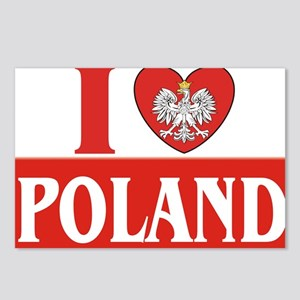 lovePOLAND Postcards (Package of 8)