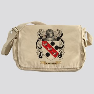 Clarkson 2 Coat of Arms Messenger Bag