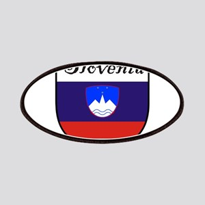 Slovenia Flag Crest Shield Patches