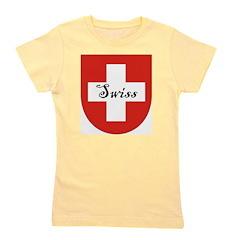 Swiss Flag Crest Shield Girl's Tee