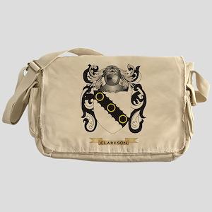 Clarkson Coat of Arms Messenger Bag