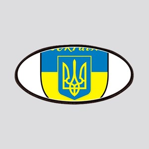 Ukraine Flag Crest Shield Patches