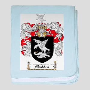 Madden Family Crest baby blanket
