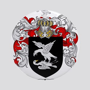 Madden Family Crest Ornament (Round)