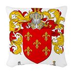 Maldonado Family Crest Woven Throw Pillow