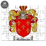 Maldonado Family Crest Puzzle
