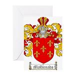 Maldonado Family Crest Greeting Card