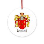 Maldonado Family Crest Ornament (Round)