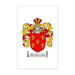 Maldonado Family Crest Mini Poster Print